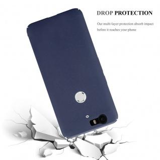 Cadorabo Hülle für Huawei NEXUS 6P in FROSTY BLAU - Hardcase Handyhülle aus Plastik gegen Kratzer und Stöße - Schutzhülle Bumper Ultra Slim Back Case Hard Cover - Vorschau 5