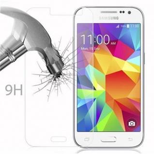 Cadorabo Panzer Folie für Samsung Galaxy CORE PRIME - Schutzfolie in KRISTALL KLAR - Gehärtetes (Tempered) Display-Schutzglas in 9H Härte mit 3D Touch Kompatibilität - Vorschau 3