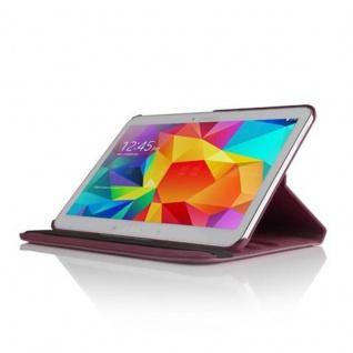 """Cadorabo ! PREMIUM - Samsung Galaxy Tab 4 - 10.1 ZOLL (T530 T535) Schutzhülle mit Standfunktion Drehbar 360 Grad Design """" 360°"""" in lila - Vorschau 2"""