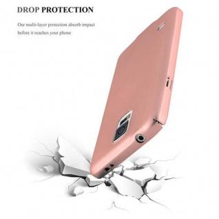 Cadorabo Hülle für Samsung Galaxy S5 / S5 NEO in METALL ROSE GOLD - Hardcase Handyhülle aus Plastik gegen Kratzer und Stöße - Schutzhülle Bumper Ultra Slim Back Case Hard Cover - Vorschau 5