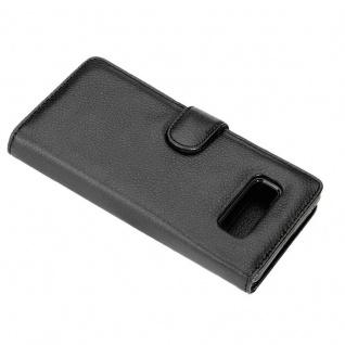 Cadorabo Hülle für Samsung Galaxy NOTE 8 in OXID SCHWARZ ? Handyhülle mit Magnetverschluss und 3 Kartenfächern ? Case Cover Schutzhülle Etui Tasche Book Klapp Style - Vorschau 5