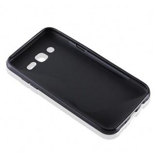 Cadorabo Hülle für Samsung Galaxy J5 2015 in OXID SCHWARZ ? Handyhülle aus flexiblem TPU Silikon ? Silikonhülle Schutzhülle Ultra Slim Soft Back Cover Case Bumper - Vorschau 3