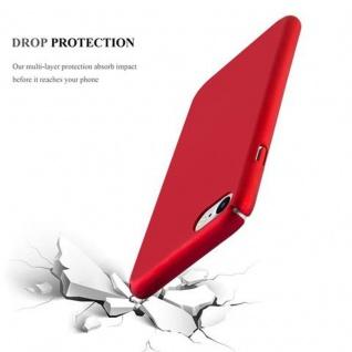 Cadorabo Hülle für Apple iPhone 7 / iPhone 7S / iPhone 8 in METALL ROT - Hardcase Handyhülle aus Plastik gegen Kratzer und Stöße - Schutzhülle Bumper Ultra Slim Back Case Hard Cover - Vorschau 3