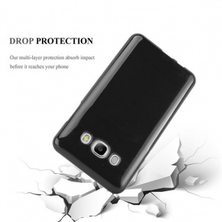 Cadorabo Hülle für Samsung Galaxy J5 2016 in SCHWARZ - Handyhülle aus flexiblem TPU Silikon - Silikonhülle Schutzhülle Ultra Slim Soft Back Cover Case Bumper - Vorschau 3