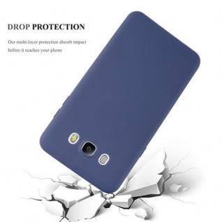 Cadorabo Hülle für Samsung Galaxy J7 2016 in CANDY DUNKEL BLAU - Handyhülle aus flexiblem TPU Silikon - Silikonhülle Schutzhülle Ultra Slim Soft Back Cover Case Bumper - Vorschau 4