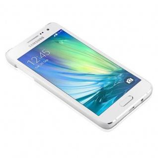 Samsung Galaxy A3 2015 Hardcase Hülle in WEIß von Cadorabo - Blumen Paisley Henna Design Schutzhülle ? Handyhülle Bumper Back Case Cover - Vorschau 2