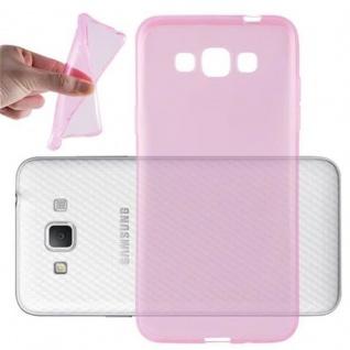 Cadorabo Hülle für Samsung Galaxy GRAND 3 in TRANSPARENT PINK - Handyhülle aus flexiblem TPU Silikon - Silikonhülle Schutzhülle Ultra Slim Soft Back Cover Case Bumper