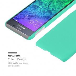 Cadorabo Hülle für Samsung Galaxy ALPHA in FROSTY GRÜN - Hardcase Handyhülle aus Plastik gegen Kratzer und Stöße - Schutzhülle Bumper Ultra Slim Back Case Hard Cover - Vorschau 5