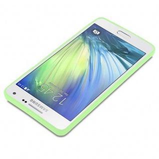 Cadorabo Hülle für Samsung Galaxy A5 2015 in CANDY PASTELL GRÜN - Handyhülle aus flexiblem TPU Silikon - Silikonhülle Schutzhülle Ultra Slim Soft Back Cover Case Bumper - Vorschau 3