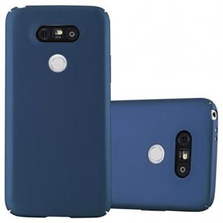 Cadorabo Hülle für LG G5 in METALL BLAU - Hardcase Handyhülle aus Plastik gegen Kratzer und Stöße - Schutzhülle Bumper Ultra Slim Back Case Hard Cover
