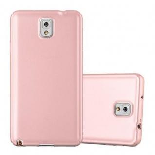Cadorabo Hülle für Samsung Galaxy NOTE 3 in METALL ROSE GOLD - Hardcase Handyhülle aus Plastik gegen Kratzer und Stöße - Schutzhülle Bumper Ultra Slim Back Case Hard Cover