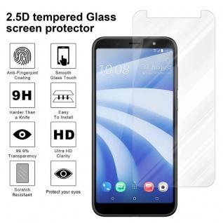 Cadorabo Panzer Folie für HTC U12 LITE - Schutzfolie in KRISTALL KLAR - Gehärtetes (Tempered) Display-Schutzglas in 9H Härte mit 3D Touch Kompatibilität - Vorschau 4