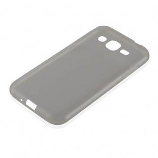 Cadorabo Hülle für Samsung Galaxy J2 2015 in TRANSPARENT SCHWARZ - Handyhülle aus flexiblem TPU Silikon - Silikonhülle Schutzhülle Ultra Slim Soft Back Cover Case Bumper - Vorschau 2