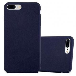 Cadorabo Hülle für Apple iPhone 8 PLUS / iPhone 7 PLUS / iPhone 7S PLUS in FROSTY BLAU - Hardcase Handyhülle aus Plastik gegen Kratzer und Stöße - Schutzhülle Bumper Ultra Slim Back Case Hard Cover