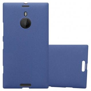 Cadorabo Hülle für Nokia Lumia 1520 in FROST DUNKEL BLAU - Handyhülle aus flexiblem TPU Silikon - Silikonhülle Schutzhülle Ultra Slim Soft Back Cover Case Bumper