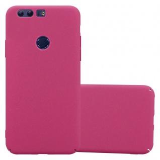 Cadorabo Hülle für Honor 8 in FROSTY PINK - Hardcase Handyhülle aus Plastik gegen Kratzer und Stöße - Schutzhülle Bumper Ultra Slim Back Case Hard Cover