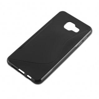 Cadorabo Hülle für Samsung Galaxy A3 2016 in OXID SCHWARZ ? Handyhülle aus flexiblem TPU Silikon ? Silikonhülle Schutzhülle Ultra Slim Soft Back Cover Case Bumper - Vorschau 2