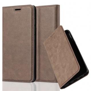 Cadorabo Hülle für Xiaomi Mi 5 in KAFFEE BRAUN - Handyhülle mit Magnetverschluss, Standfunktion und Kartenfach - Case Cover Schutzhülle Etui Tasche Book Klapp Style