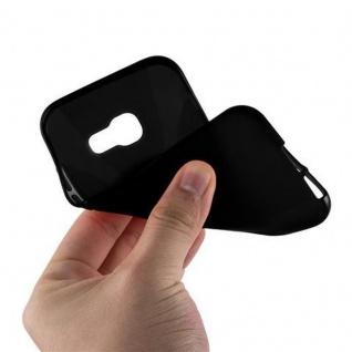 Cadorabo Hülle für Samsung Galaxy A3 2017 in OXID SCHWARZ - Handyhülle aus flexiblem TPU Silikon - Silikonhülle Schutzhülle Ultra Slim Soft Back Cover Case Bumper - Vorschau 2