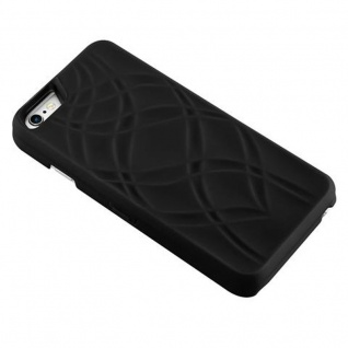Cadorabo - TPU Hard Cover für Apple iPhone 6 PLUS / iPhone 6S PLUS mit Muster, Spiegel und 3 Kartenfächer ? Case Schutzhülle in SCHWARZ - Vorschau 4