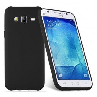 Cadorabo Hülle für Samsung Galaxy J5 2015 in CANDY SCHWARZ - Handyhülle aus flexiblem TPU Silikon - Silikonhülle Schutzhülle Ultra Slim Soft Back Cover Case Bumper - Vorschau 2