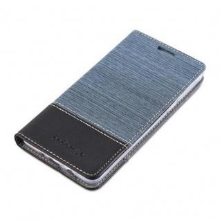 Cadorabo Hülle für Samsung Galaxy J5 2016 in DUNKEL BLAU SCHWARZ - Handyhülle mit Magnetverschluss, Standfunktion und Kartenfach - Case Cover Schutzhülle Etui Tasche Book Klapp Style - Vorschau 3