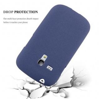 Cadorabo Hülle für Samsung Galaxy S3 MINI in FROST DUNKEL BLAU - Handyhülle aus flexiblem TPU Silikon - Silikonhülle Schutzhülle Ultra Slim Soft Back Cover Case Bumper - Vorschau 5