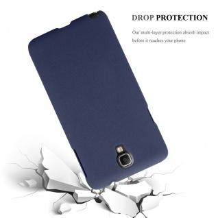 Cadorabo Hülle für Samsung Galaxy NOTE 3 NEO in FROSTY BLAU - Hardcase Handyhülle aus Plastik gegen Kratzer und Stöße - Schutzhülle Bumper Ultra Slim Back Case Hard Cover - Vorschau 4