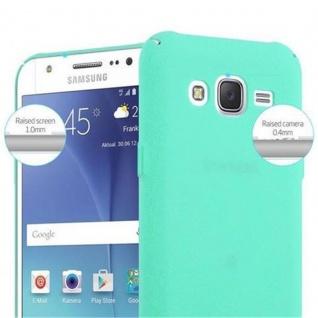 Cadorabo Hülle für Samsung Galaxy J7 2016 in FROSTY GRÜN - Hardcase Handyhülle aus Plastik gegen Kratzer und Stöße - Schutzhülle Bumper Ultra Slim Back Case Hard Cover - Vorschau 5