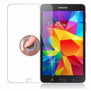 Cadorabo Panzer Folie für Samsung Galaxy Tab 4 (7 Zoll) - Schutzfolie in KRISTALL KLAR - Gehärtetes (Tempered) Display-Schutzglas in 9H Härte mit 3D Touch Kompatibilität - Vorschau 4
