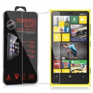 Cadorabo Panzer Folie für Nokia Lumia 920 - Schutzfolie in KRISTALL KLAR - Gehärtetes (Tempered) Display-Schutzglas in 9H Härte mit 3D Touch Kompatibilität