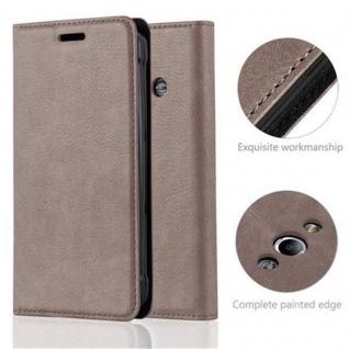 Cadorabo Hülle für Samsung Galaxy XCover 3 in KAFFEE BRAUN - Handyhülle mit Magnetverschluss, Standfunktion und Kartenfach - Case Cover Schutzhülle Etui Tasche Book Klapp Style - Vorschau 2