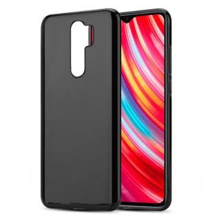 Cadorabo Hülle für Xiaomi RedMi NOTE Note 8 PRO in SCHWARZ - Handyhülle aus flexiblem TPU Silikon - Silikonhülle Schutzhülle Ultra Slim Soft Back Cover Case Bumper