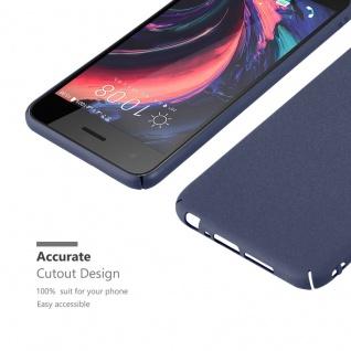 Cadorabo Hülle für HTC One A9 in FROSTY BLAU - Hardcase Handyhülle aus Plastik gegen Kratzer und Stöße - Schutzhülle Bumper Ultra Slim Back Case Hard Cover - Vorschau 5