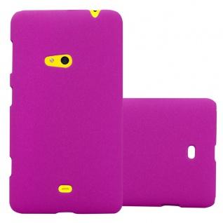 Cadorabo ? Mattes Hard Cover Slim Case Frosty für Nokia Lumia 625 - Cover Schutz-hülle in FROSTY-PINK