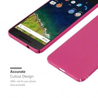 Cadorabo Hülle für Huawei NEXUS 6P in FROSTY PINK - Hardcase Handyhülle aus Plastik gegen Kratzer und Stöße - Schutzhülle Bumper Ultra Slim Back Case Hard Cover - Vorschau 4