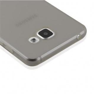 Cadorabo Hülle für Samsung Galaxy A5 2016 in TRANSPARENT SCHWARZ - Handyhülle aus flexiblem TPU Silikon - Silikonhülle Schutzhülle Ultra Slim Soft Back Cover Case Bumper - Vorschau 5