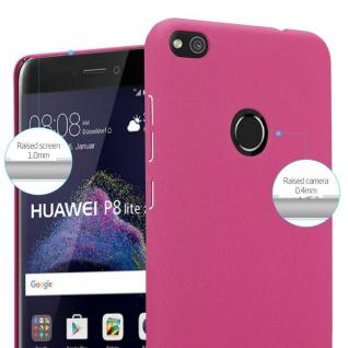 Cadorabo Hülle für Huawei P8 Lite 2017 in FROSTY PINK - Hardcase Handyhülle aus Plastik gegen Kratzer und Stöße - Schutzhülle Bumper Ultra Slim Back Case Hard Cover - Vorschau 4