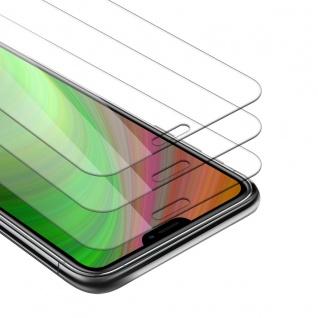 """Cadorabo 3x Panzer Folie für Apple iPhone 12 / iPhone 12 Pro (6, 1"""" Zoll) Schutzfolie in KRISTALL KLAR 3er Pack Gehärtetes (Tempered) Display-Schutzglas in 9H Härte mit 3D Touch Kompatibilität"""