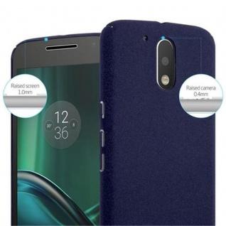 Cadorabo Hülle für Motorola MOTO G4 / MOTO G4 PLUS in FROSTY BLAU - Hardcase Handyhülle aus Plastik gegen Kratzer und Stöße - Schutzhülle Bumper Ultra Slim Back Case Hard Cover - Vorschau 5