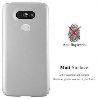 Cadorabo Hülle für LG G5 in METALL SILBER ? Hardcase Handyhülle aus Plastik gegen Kratzer und Stöße ? Schutzhülle Bumper Ultra Slim Back Case Hard Cover - Vorschau 2