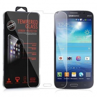 Cadorabo Panzer Folie für Samsung Galaxy MEGA 6.3 - Schutzfolie in KRISTALL KLAR - Gehärtetes (Tempered) Display-Schutzglas in 9H Härte mit 3D Touch Kompatibilität - Vorschau 2