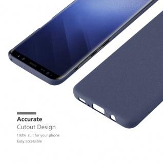 Cadorabo Hülle für Samsung Galaxy S9 in FROSTY BLAU - Hardcase Handyhülle aus Plastik gegen Kratzer und Stöße - Schutzhülle Bumper Ultra Slim Back Case Hard Cover - Vorschau 5