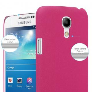 Cadorabo Hülle für Samsung Galaxy S4 MINI in FROSTY PINK - Hardcase Handyhülle aus Plastik gegen Kratzer und Stöße - Schutzhülle Bumper Ultra Slim Back Case Hard Cover - Vorschau 3