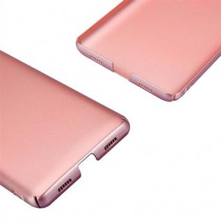 Cadorabo Hülle für Honor 6X in METALL ROSÉ GOLD - Hardcase Handyhülle aus Plastik gegen Kratzer und Stöße - Schutzhülle Bumper Ultra Slim Back Case Hard Cover - Vorschau 5