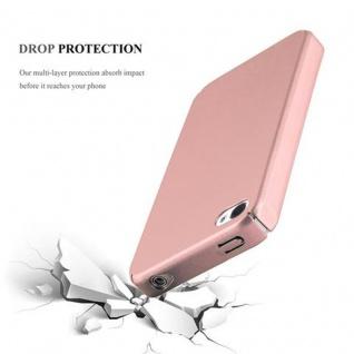 Cadorabo Hülle für Apple iPhone 4 / iPhone 4S in METALL ROSE GOLD - Hardcase Handyhülle aus Plastik gegen Kratzer und Stöße - Schutzhülle Bumper Ultra Slim Back Case Hard Cover - Vorschau 3