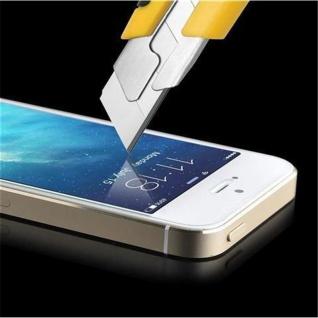 Cadorabo ! PREMIUM - Screen Protector Tempered Glass Hartglas Schutzfolie für iPhone 5, 5s, 5c Display Schutzglas 0, 3mm abgerundete Ecken - transparent - Vorschau 2