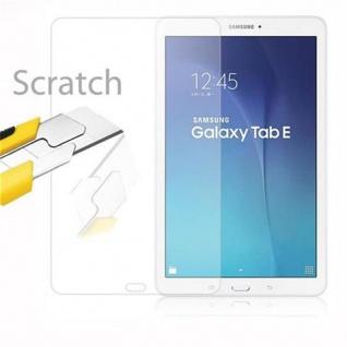 Cadorabo Panzer Folie für Samsung Galaxy TAB E (9.7 Zoll) - Schutzfolie in KRISTALL KLAR - Gehärtetes (Tempered) Display-Schutzglas in 9H Härte mit 3D Touch Kompatibilität - Vorschau 2
