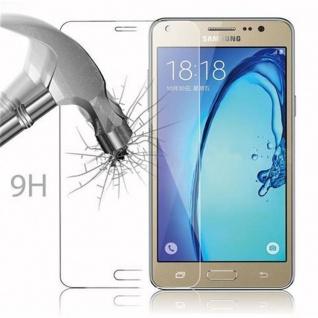 Cadorabo Panzer Folie für Samsung Galaxy On5 - Schutzfolie in KRISTALL KLAR - Gehärtetes (Tempered) Display-Schutzglas in 9H Härte mit 3D Touch Kompatibilität - Vorschau 3