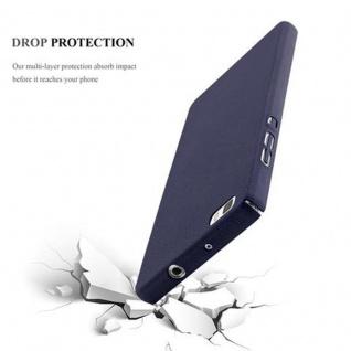 Cadorabo Hülle für Huawei P8 LITE 2015 in FROSTY BLAU - Hardcase Handyhülle aus Plastik gegen Kratzer und Stöße - Schutzhülle Bumper Ultra Slim Back Case Hard Cover - Vorschau 4
